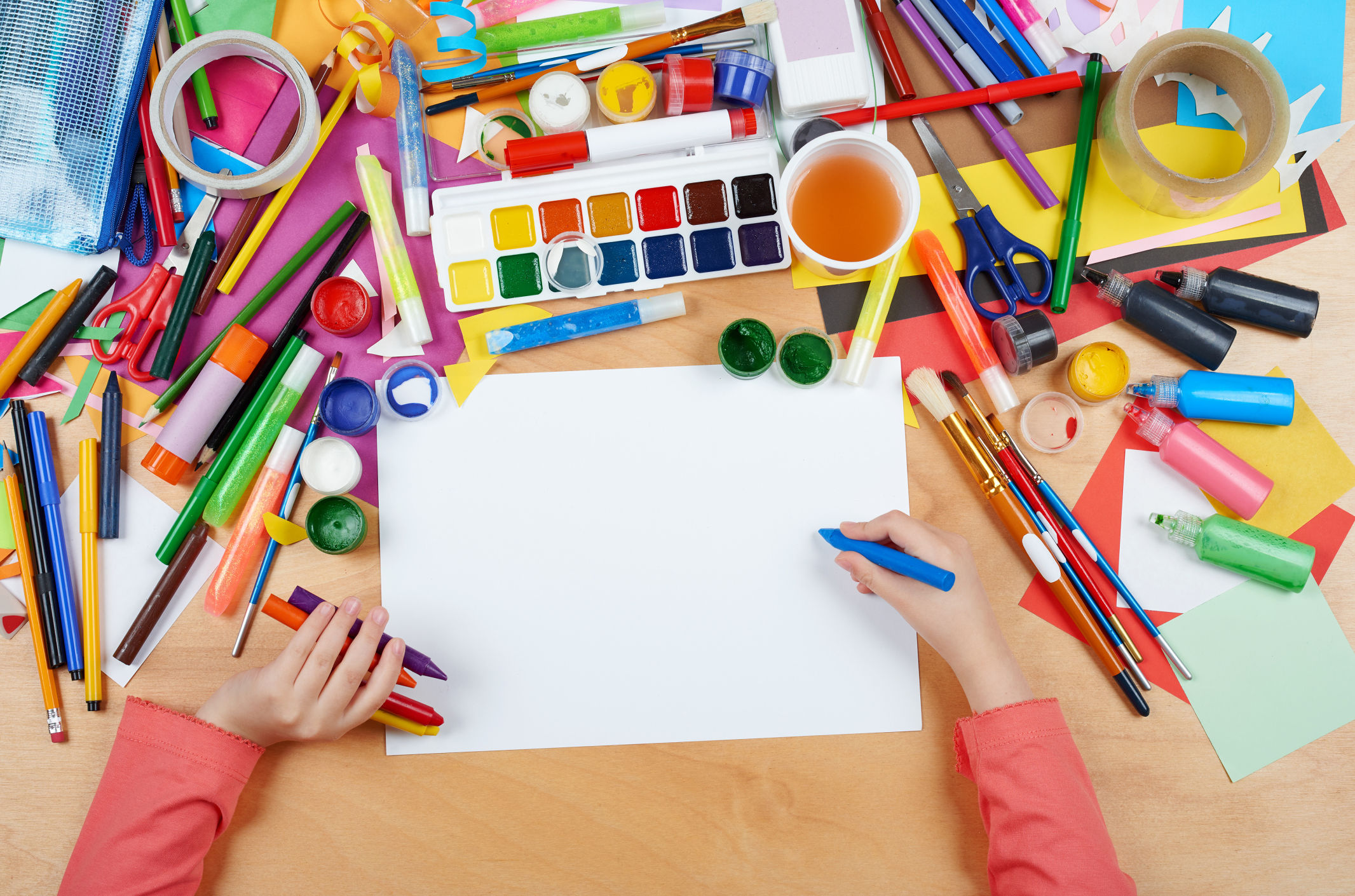 Kids Crafternoon Events Pima County Public Library
