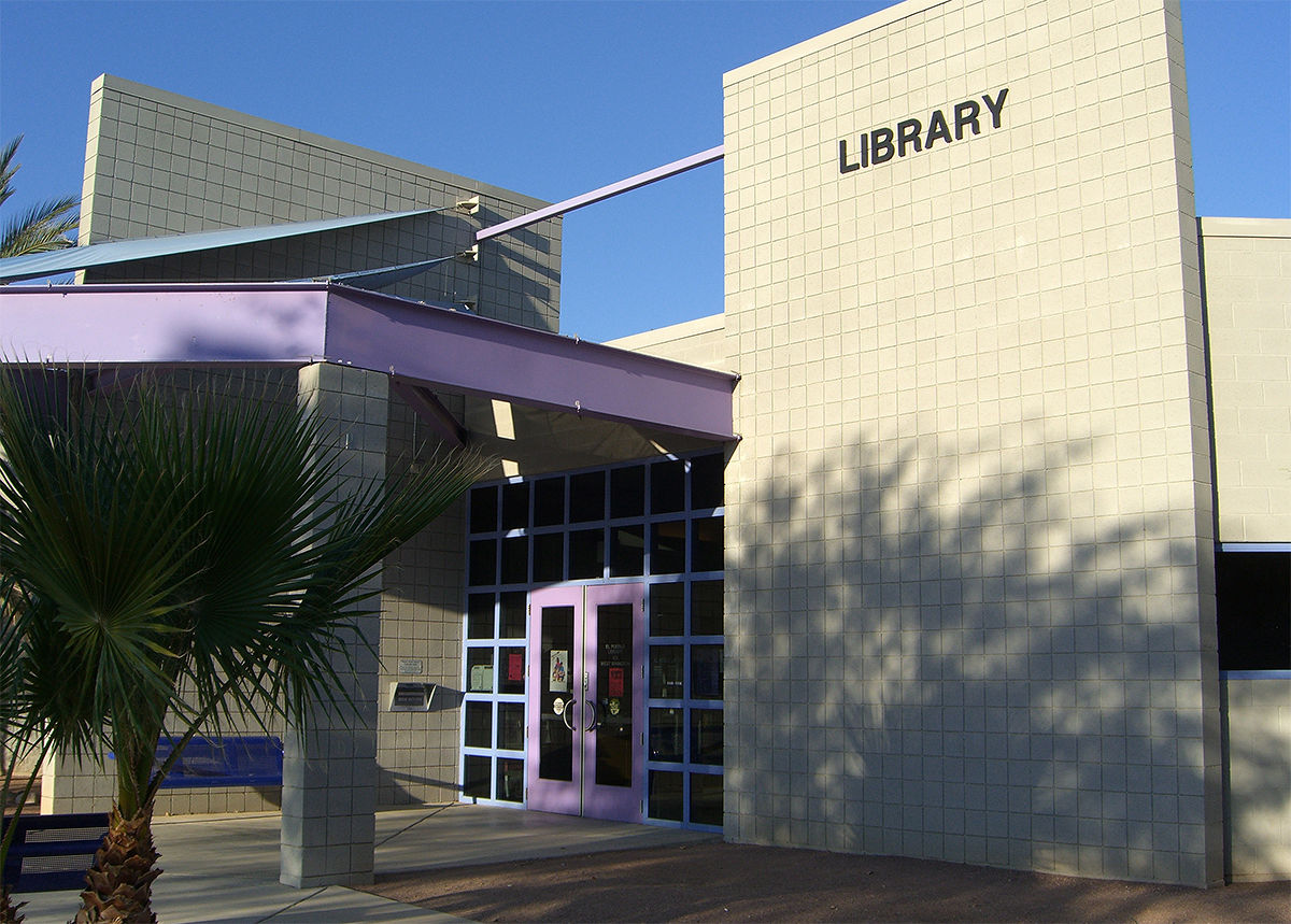 Image result for el Pueblo Library in South Tucson